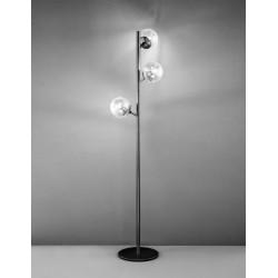 Global 262.733 Metal lux lampada da terra moderna