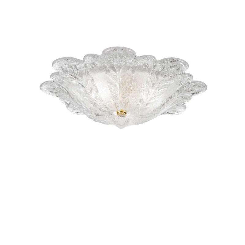 Rossini Serena 10520-50 plafoniera classica in vetro graniglia