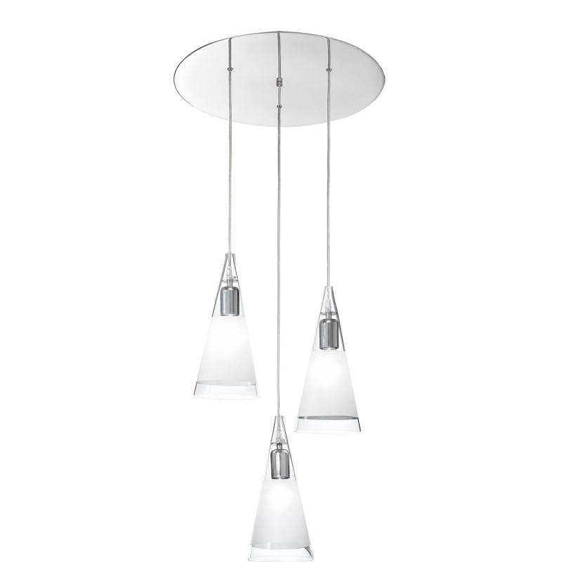 Rossini Renoir 10610 lampadario moderno in vetro soffiato cristallo