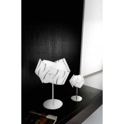 Agnese lp Gea Luce lampada da tavolo moderna serigrafata