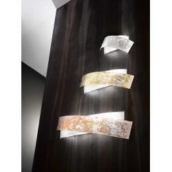 Camilla ap GeaLuce applique moderna in vetro finitura lucida