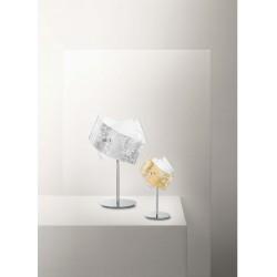 Camilla lp GeaLuce lampada da tavolo moderna luxury in vetro colorato finitura lucida