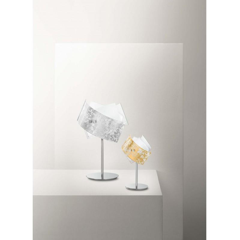 Camilla lp gealuce lampada da tavolo moderna luxury colorata lucida - Lampada moderna da tavolo ...