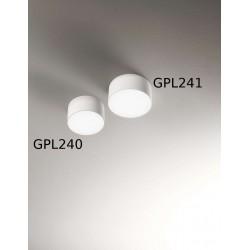 Gea Led Cloe GPL240 applique - plafoniera cilindrica LED 12 cm diametro