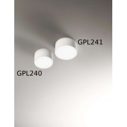Gea Led GPL240 applique - plafoniera cilindrica LED 12 cm diametro