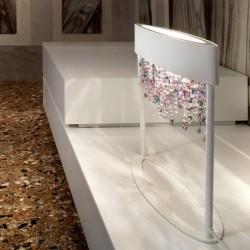 Masiero Olà TL2 lampade da tavolo particolari, abat-jour da tavolo