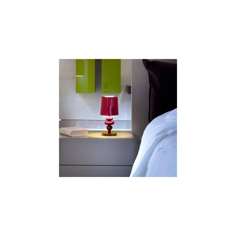 Masiero Eva TL1P lampade moderne da comodino, abajoure, lampade da como