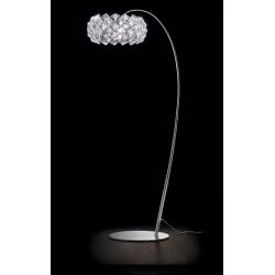 Lampada piantana arco Prisma Patrizia Volpato - lampade da terra ad arco - lampade da terra arco