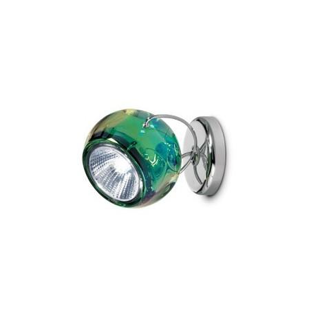 Fabbian Beluga Colour da soffitto verde